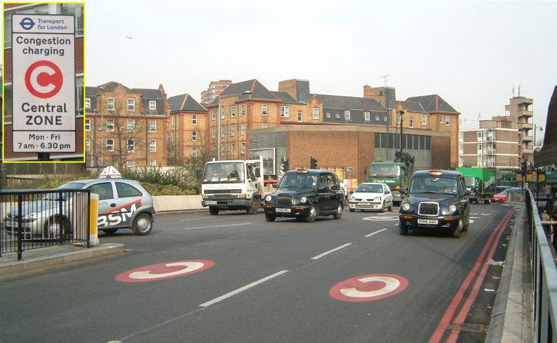 ผลการค้นหารูปภาพสำหรับ ทราบได้อย่างไรว่าอยู่ใน Congestion Zone