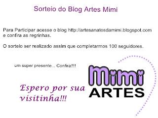 Sorteio da Mimi Artes