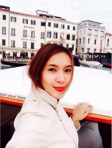 Intan Ladyana Bercuti Di Venice, info, terkini,hiburan, sensasi, Intan Ladyana