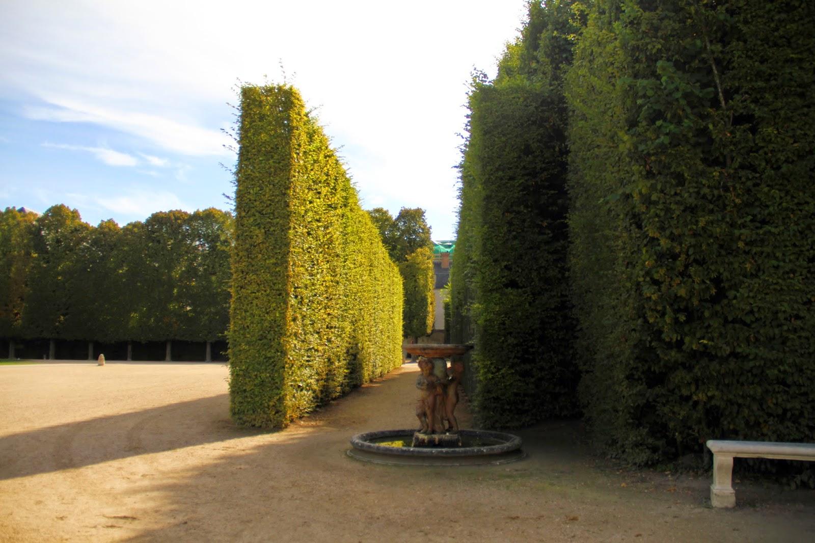 лабиринт в Версале