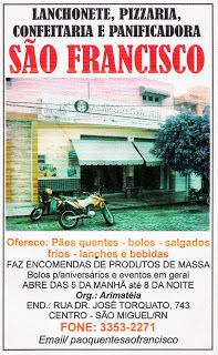 PANIFICADORA SÃO FRANCISCO