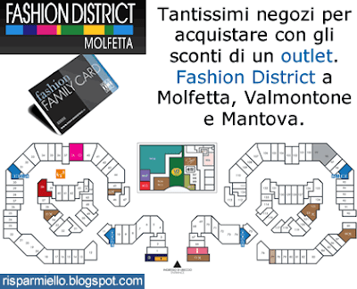 Risparmiello: Outlet Molfetta aperture del Fashion District