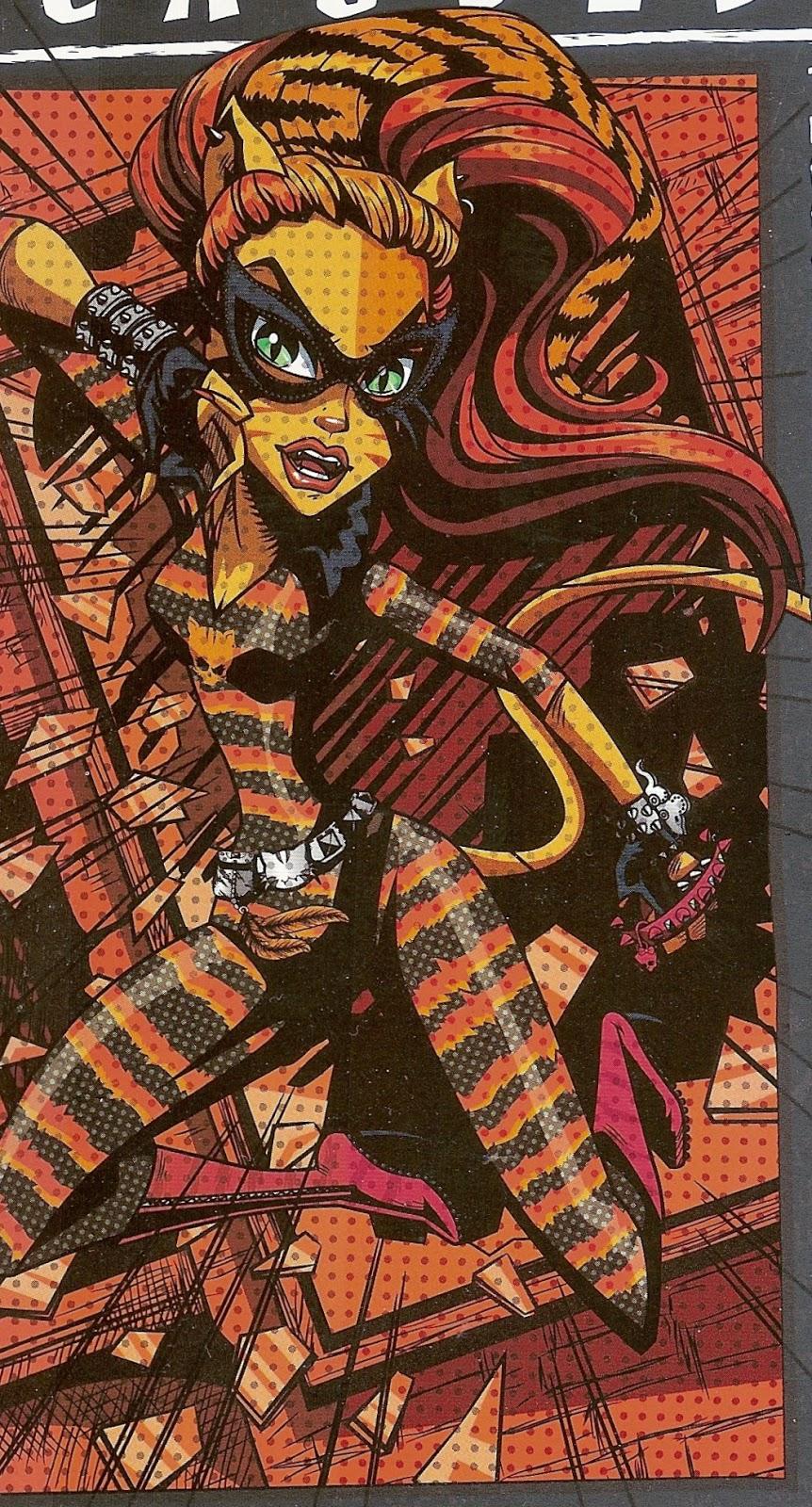 Voicething review toralei stripe as cat tastrophe - Monster high toralei ...