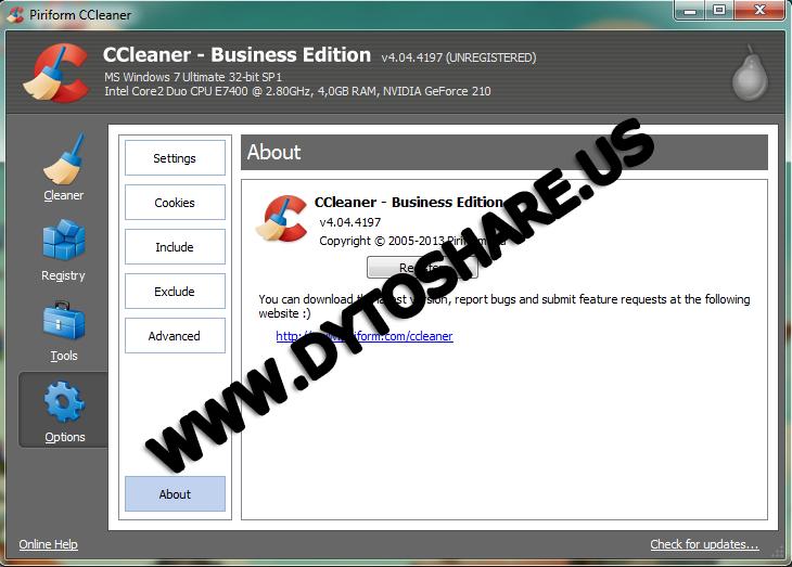 Download CCleaner 5406411 Full Version Terbaru
