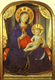 fra angelico -vierge à l'enfant