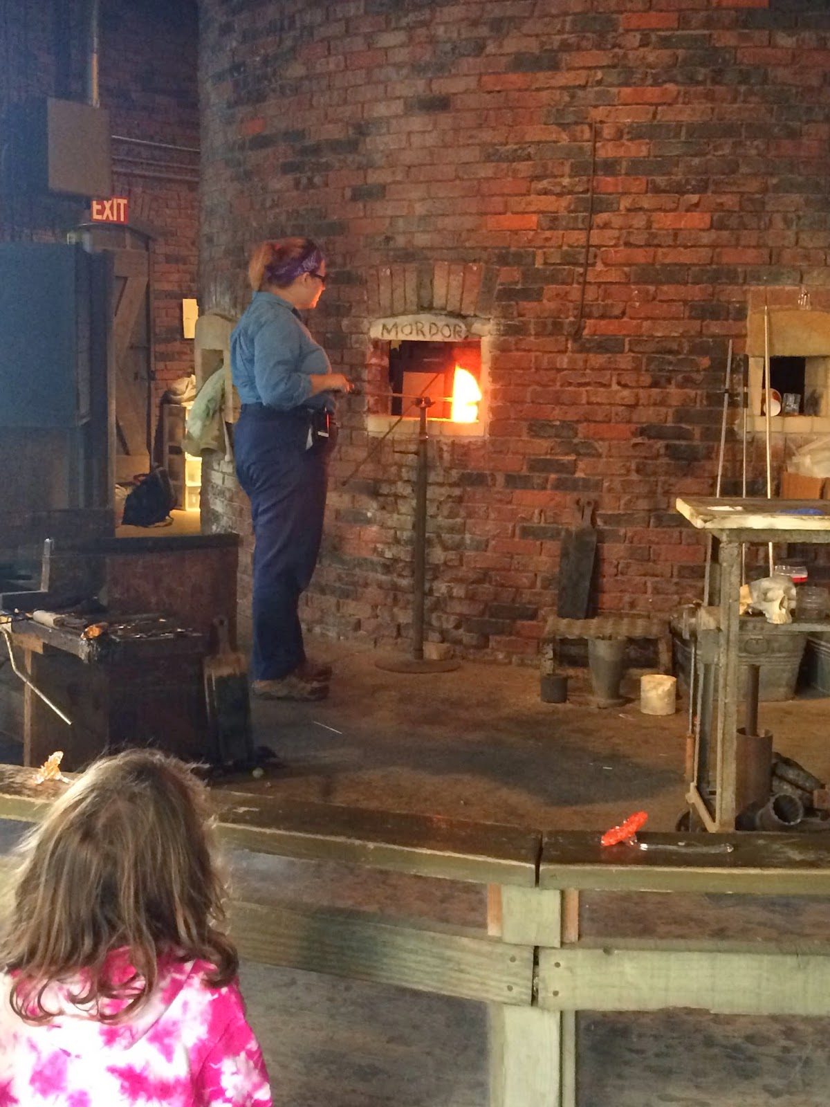 Cedar Point Glass Blowing Theatre