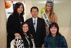 Miss World 2010, Ms Alexandria Mills (USA)