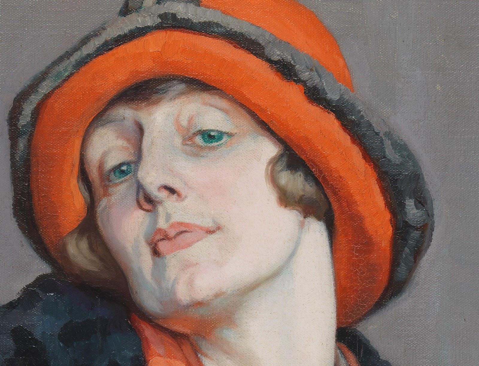 Hilda Rix Nicholas Une Australienne National Gallery of Australia detail