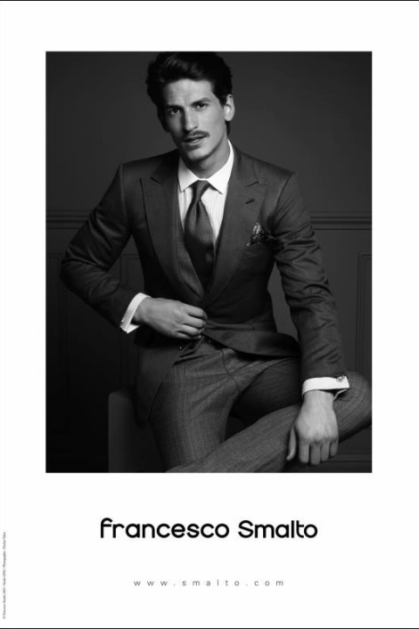 Jarrod Scott by Nicolas Valois for Francesco Smalto