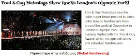 Toni & Guy Mainstage Show Rocks London's Olympic Park!