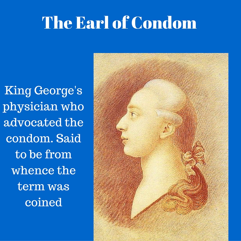 Condom history of