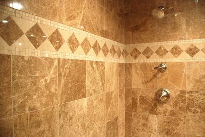 Classic Elegant Shower Wall