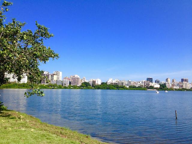 Rio de Janeiro: Lagoa Rodrigo de Freitas