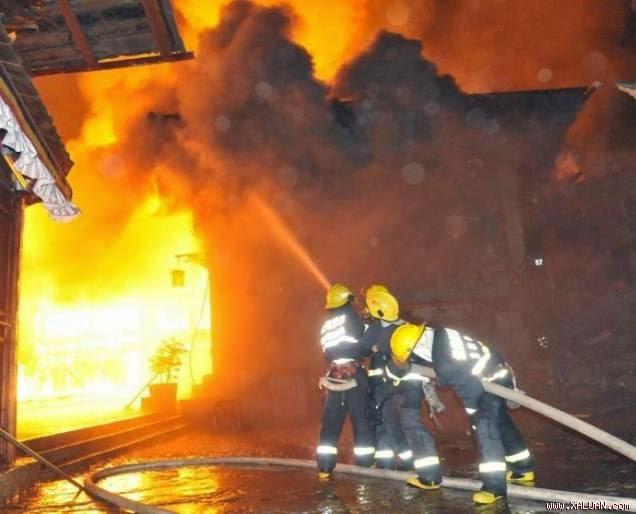 Nhật: Nổ nhà máy thép, ít nhất 12 người bị thương