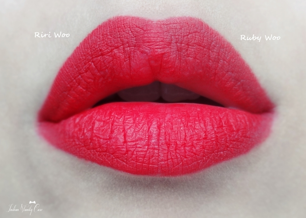 Gallery For > Mac Ruby Woo Vs Riri Woo