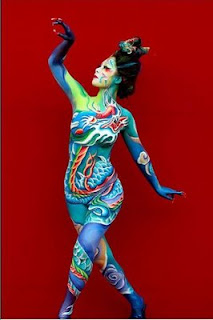 amazing body painting craft