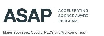 The Accelerating Science Award Program (ASAP)  logo