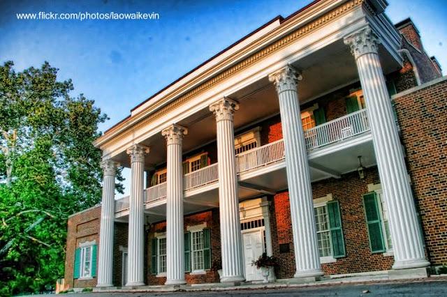 Mansión sureña en Nashville, Tennessee, Estados Unidos