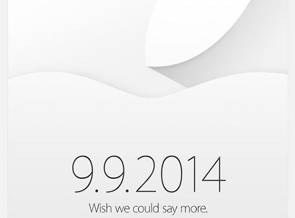 Apple confirms September 9 event with invites