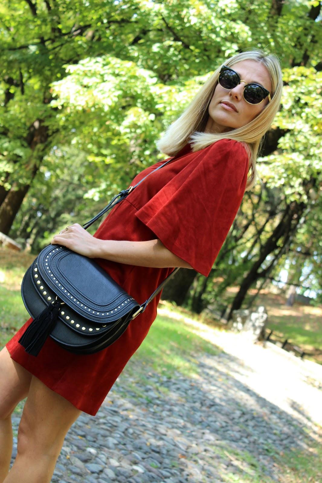 Eniwhere Fashion - Zara red dress
