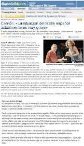 DIARIO DE IBIZA  - 22 SEPTIEMBRE 2012