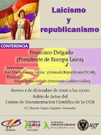 Laicismo y republicanismo en Granada