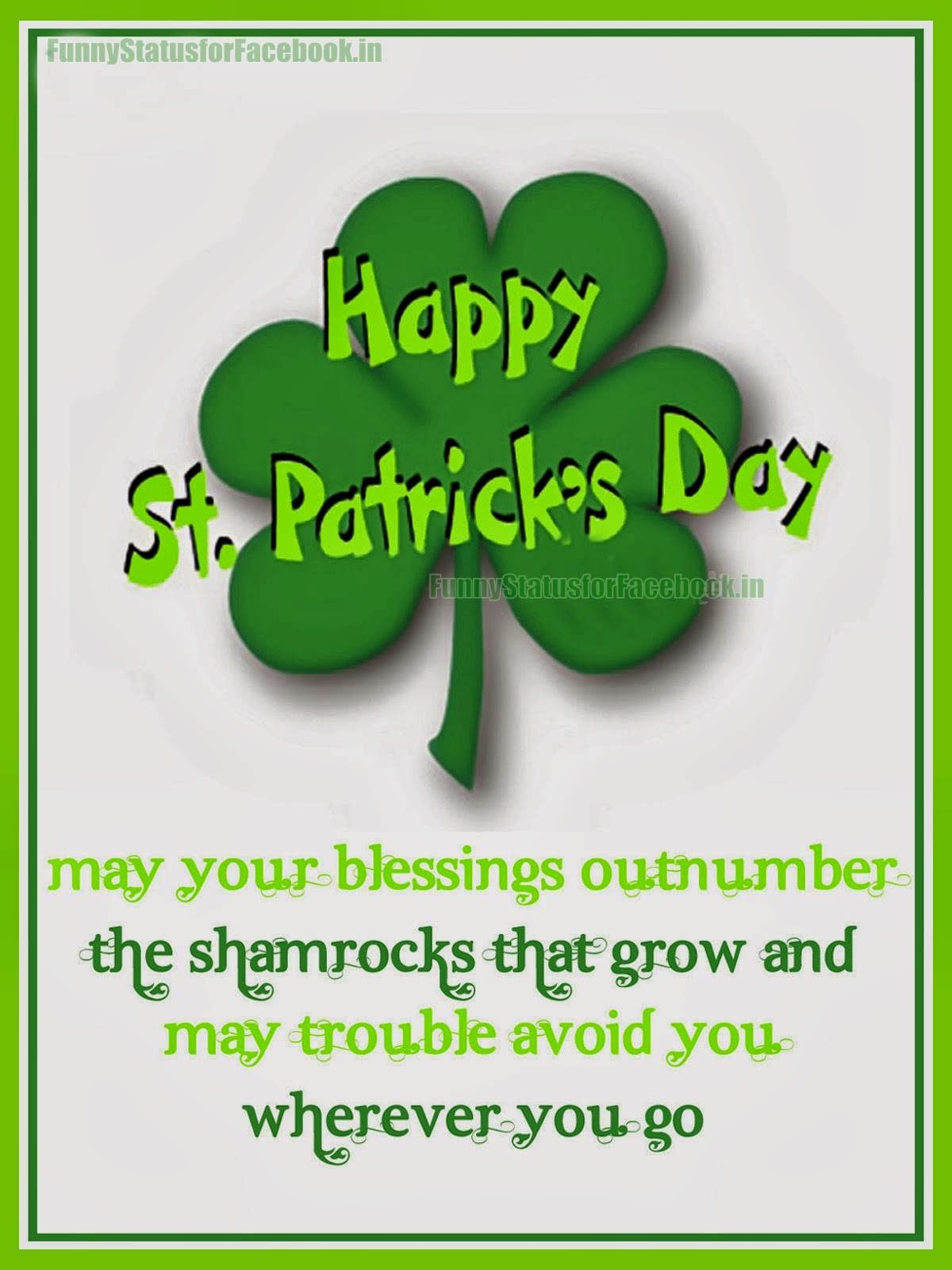Englishmania happy st patrick 39 s day for Funny irish sayings for st patrick day