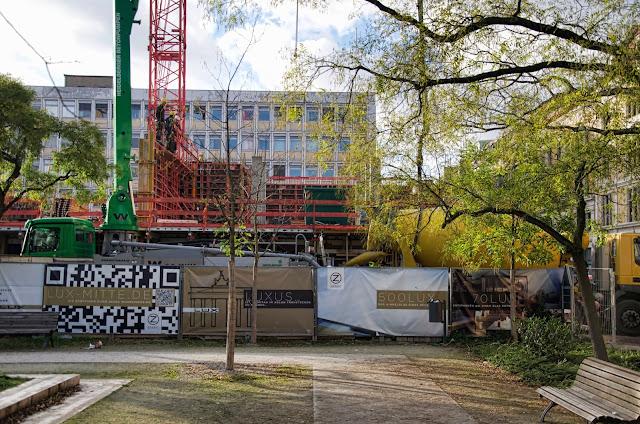 Baustelle Lux Mitte, Neustädtische Kirchstraße / Mittelstraße, 10117 Berlin, 06.11.2013
