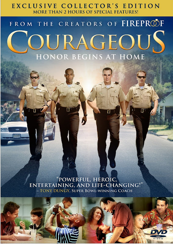 Courageous 2011 DVD English Christian Movie