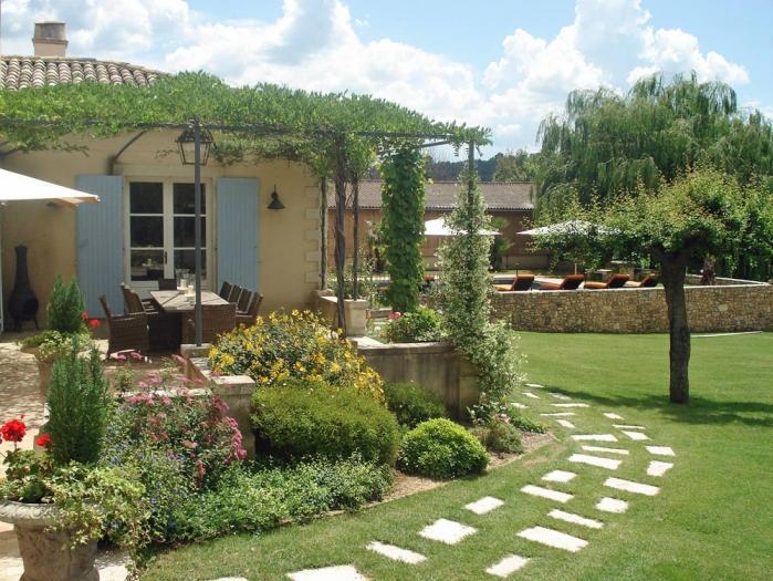 Estilo rustico nuevos jardines rusticos for Jardines de casas rusticas