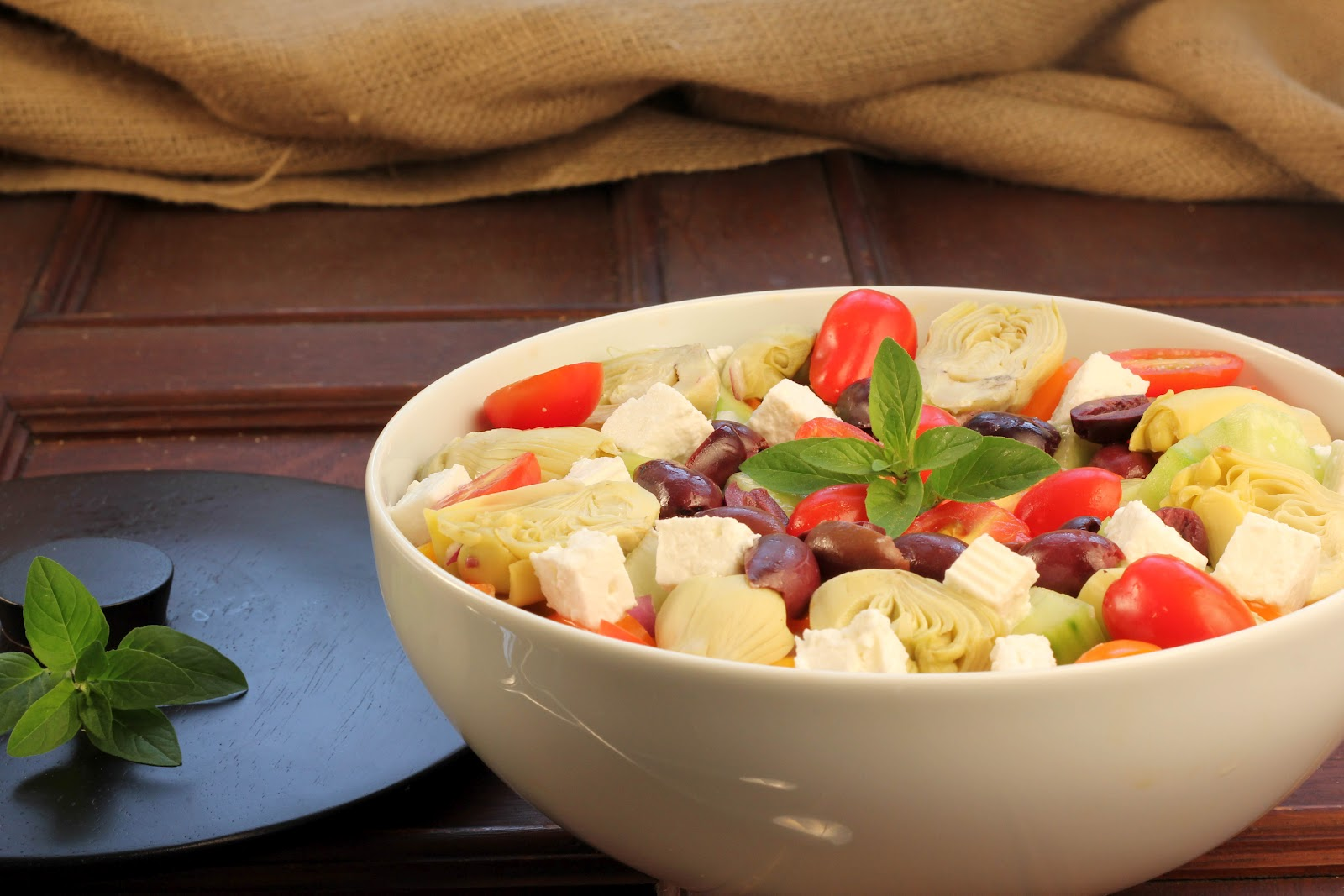 curridiculum ina garten greek salad