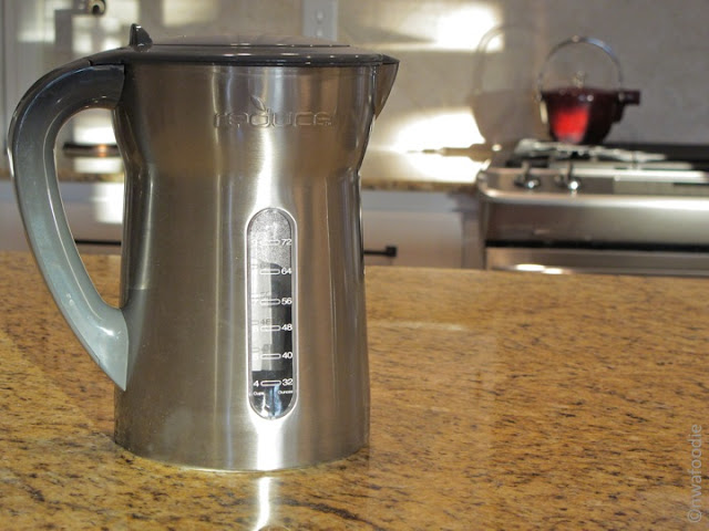 nwafoodie stainless steel water pitcher