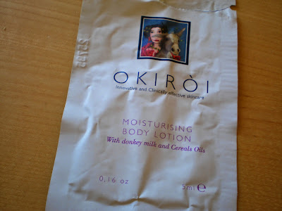 Okiroi Moisturizing body lotion