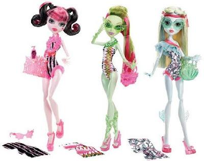 Muñecas Monster High Swim Doll SUPEROFERTA