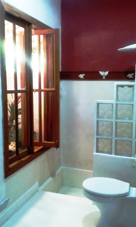 SUÍTE 1 - Banheiro __Bathroom