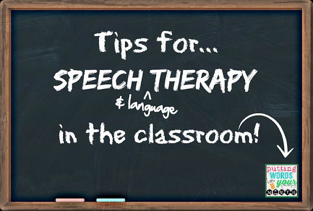 Great tips for SLPs! - Mia of Putting Words in Your Mouth is guest-posting at Speech Sprouts