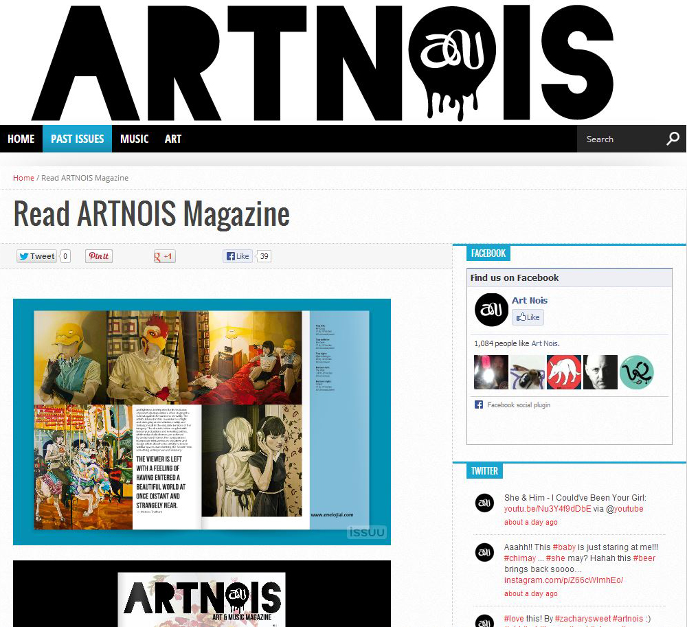 Artnois June 2013 Issue