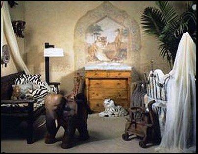 Safari Themed Bedroom