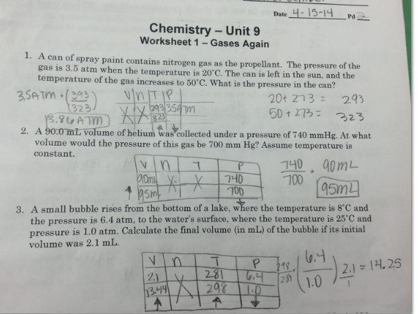 Unit 1 worksheet 4 applied density problems answer key