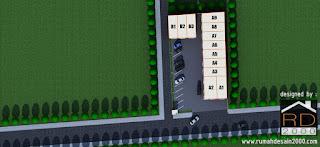 gambar plan ruko minimalis 2 lantai
