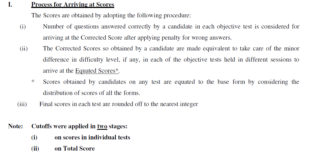 [Cut Off] IBPS PO/MT III 2013 - Subject and Category Wise Cut off Marks