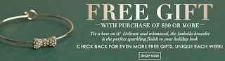 Get a free gift with a purchase of $50 or more!