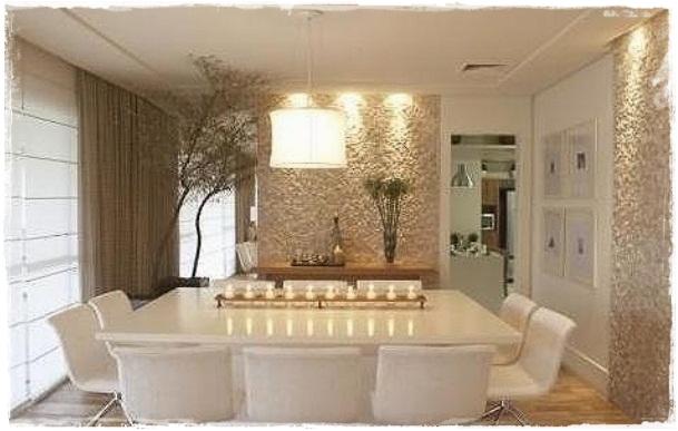 decoracao laca branca : decoracao laca branca:De tudo um pouco – por Anita Luna: Salas com Revestimento Rústico