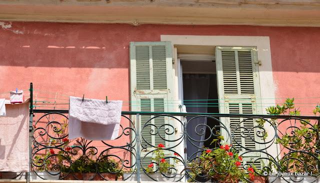 Menton - fenêtre