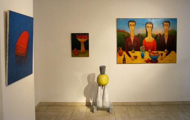Фрагмент Экспозиции Давид Шарашидзе и Гия Миминошвили -