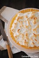 Lemon pie o tarta de limón