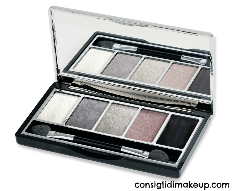 vamp palette pupa milano 008 smoky chic gold edition