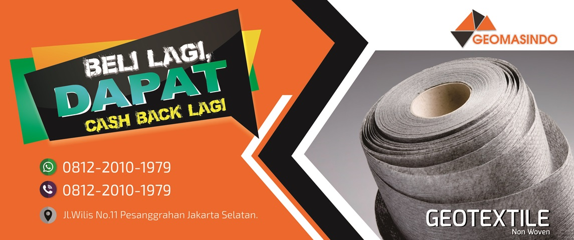 Spesialis Juall Geotextile | Geomembrane | Geogrid di Indonesia