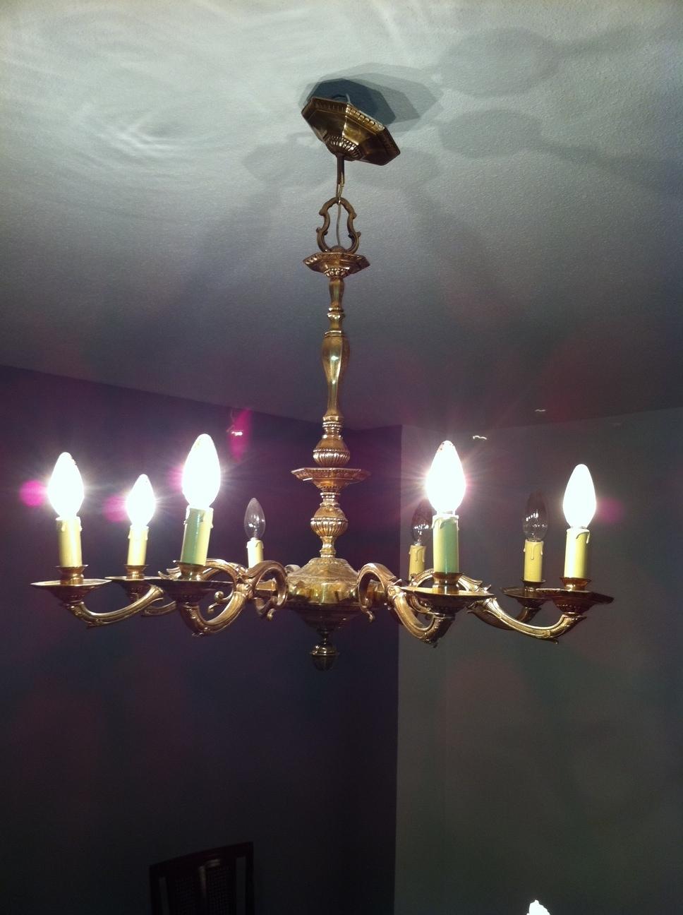 Restauracion muebles compra venta de lamparas antiguas - Venta de lamparas antiguas ...
