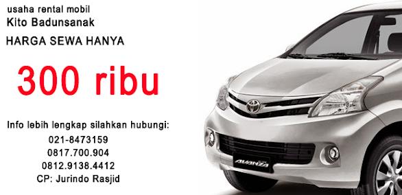 Rental Mobil Murah Pondok Gede Bekasi
